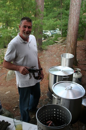 Maine Cooking and Lobster with Charles Driza at Leen's Lodge